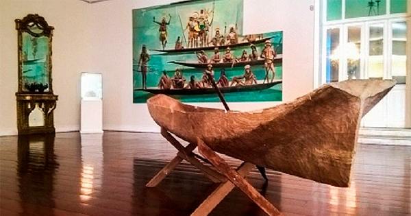 """Exposição """"Carybé e os múltiplos índios"""" no Museu do Ingá"""